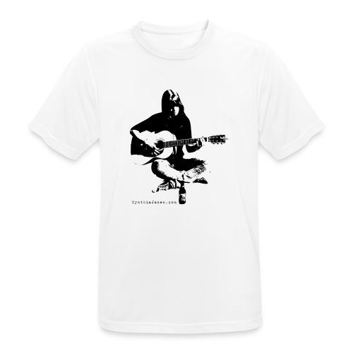 Cynthia Janes guitar BLACK - Men's Breathable T-Shirt