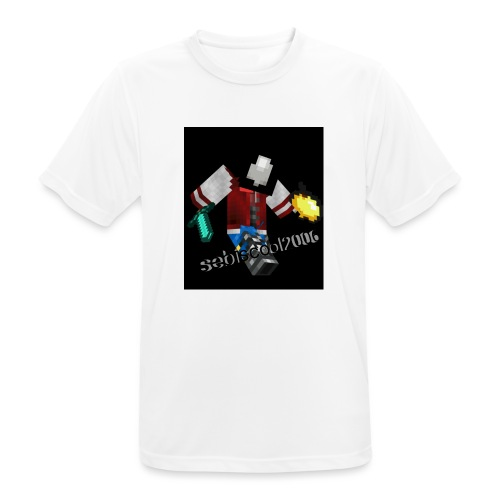 Sebastian yt - Herre T-shirt svedtransporterende