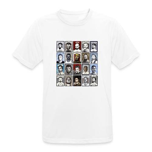 ACEO - Maglietta da uomo traspirante