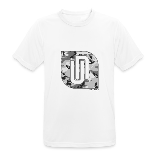 Unitwear – Camo UN Tshirt - Mannen T-shirt ademend
