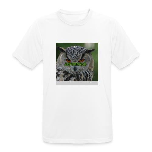 JohannesB lue - Pustende T-skjorte for menn