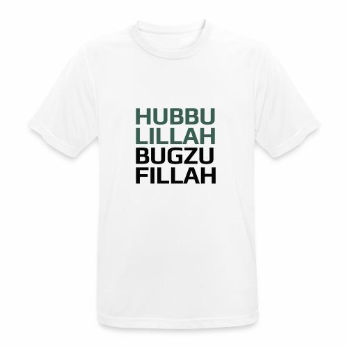 HUBBU - Herre T-shirt svedtransporterende