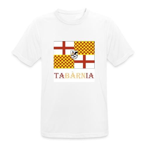 Bandera Tabarnia con escudo y nombre - Camiseta hombre transpirable