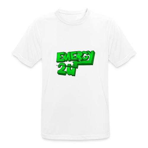 af geen background - Mannen T-shirt ademend actief