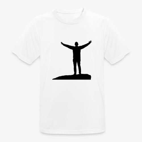 CONQUER - Herre T-shirt svedtransporterende