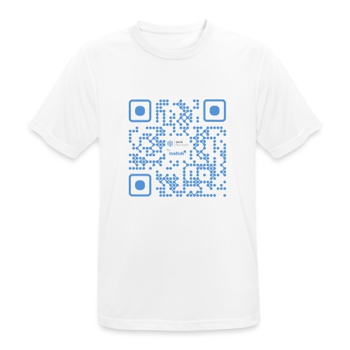 QR Maidsafe.net - Men's Breathable T-Shirt