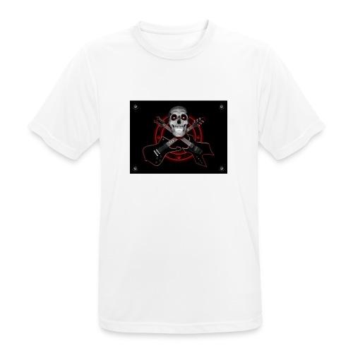 Guitarra Rockera - Camiseta hombre transpirable