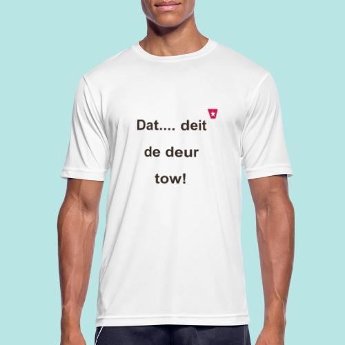 Dat deit de deur tow def ms verti b - Mannen T-shirt ademend actief