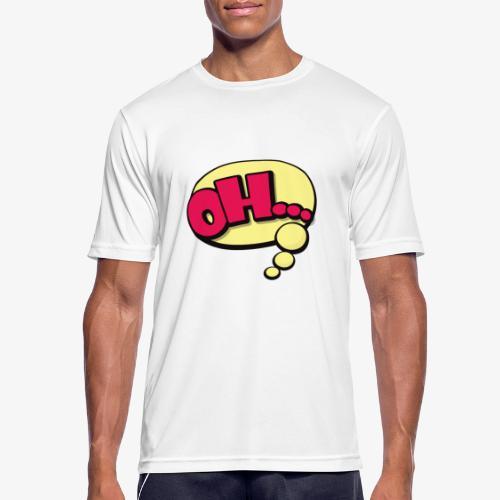 Serie Animados - Camiseta hombre transpirable
