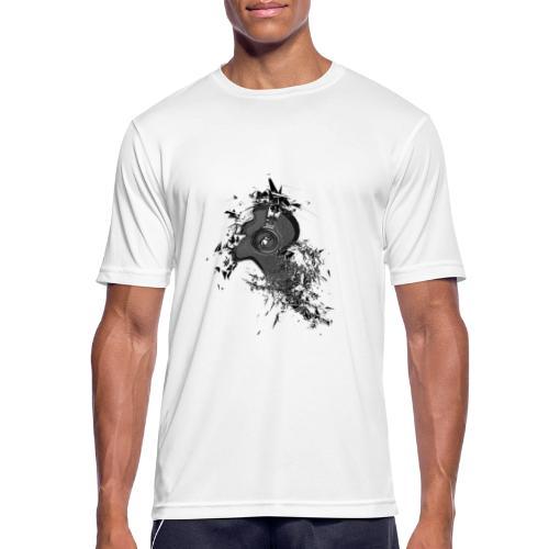 Music Head - Männer T-Shirt atmungsaktiv