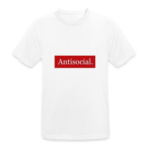Antisocial. - miesten tekninen t-paita
