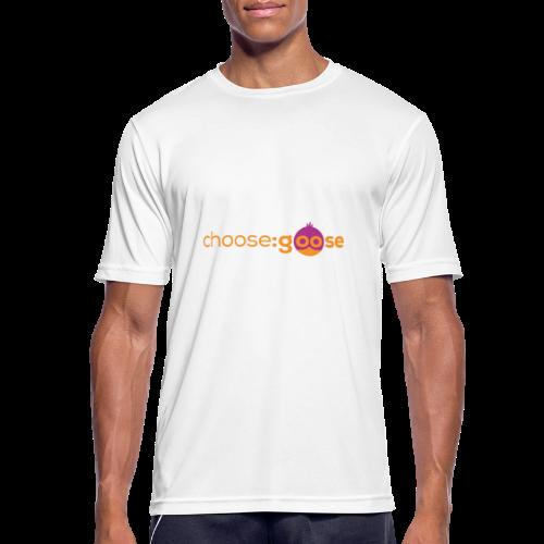 choosegoose #01 - Männer T-Shirt atmungsaktiv