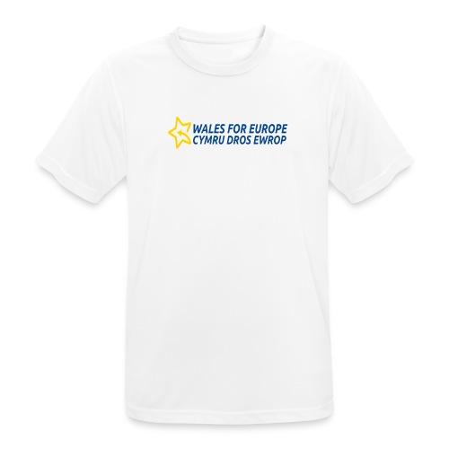 Peoples Vote Remain in EU - miesten tekninen t-paita