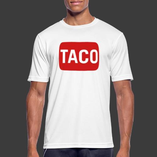 Taco Karsten Youtube Logo 2 - Herre T-shirt svedtransporterende