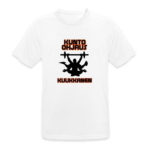 Kunto-ohjaus Kuukkanen Logo - miesten tekninen t-paita