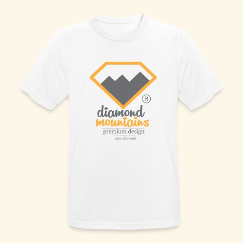 Diamond - Koszulka męska oddychająca