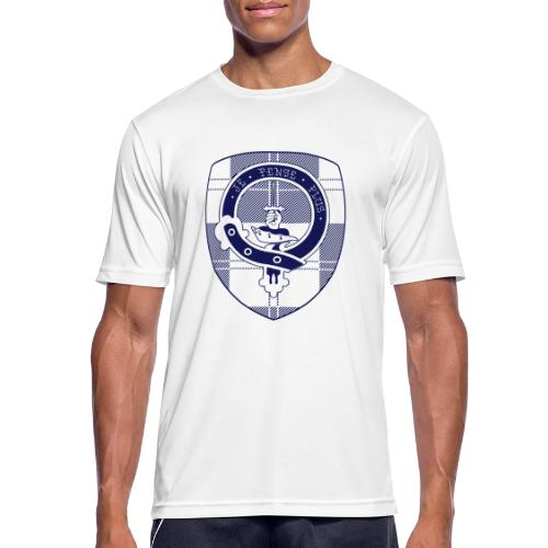 Logo Scouting Erskine 2018 - Mannen T-shirt ademend actief