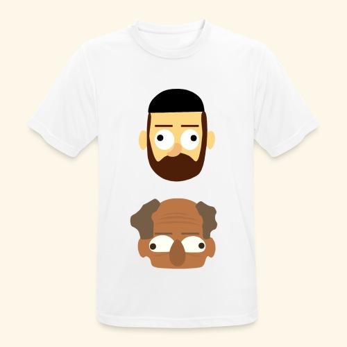 Makkers - Mannen T-shirt ademend actief