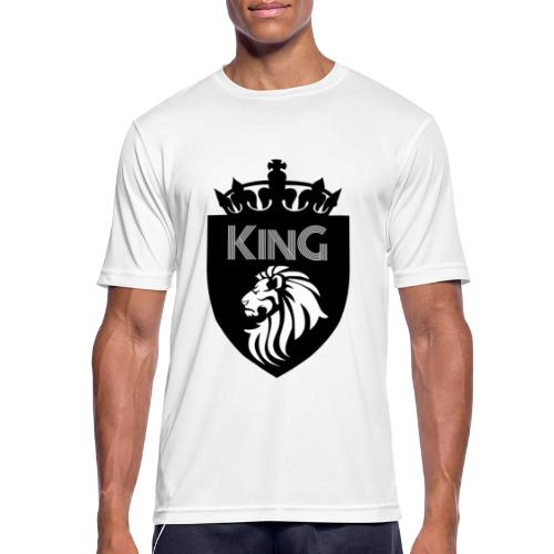 king - T-shirt respirant Homme