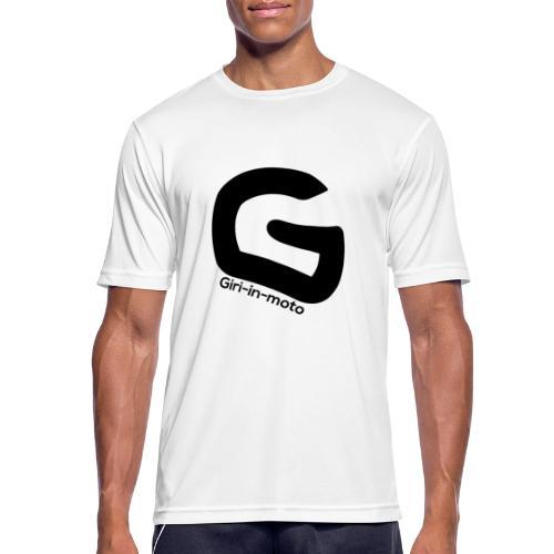 ICON giri-in-moto - Maglietta da uomo traspirante