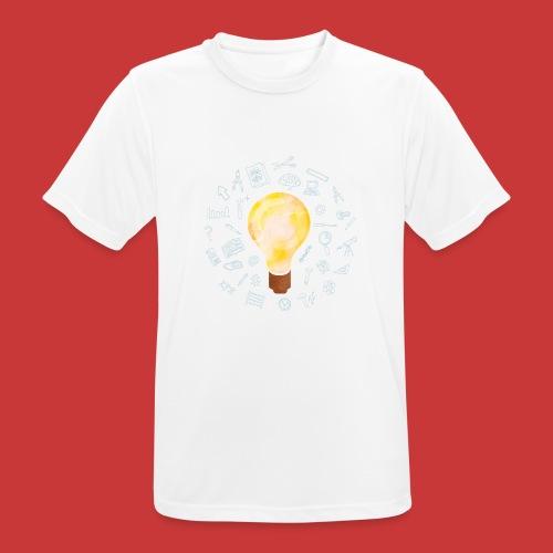 5 IDEEN Glühbirne 2018 - Männer T-Shirt atmungsaktiv