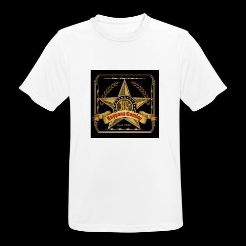 etiketti - miesten tekninen t-paita