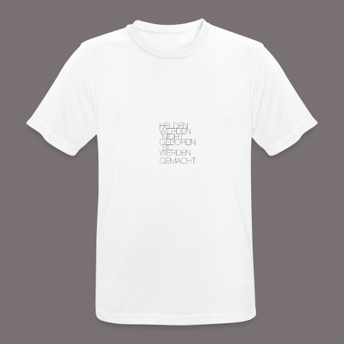Helden - Männer T-Shirt atmungsaktiv