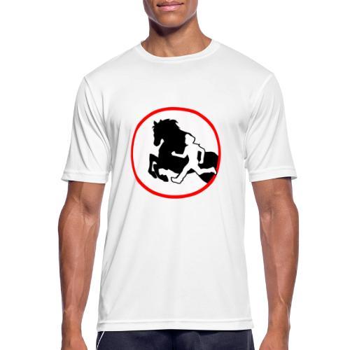 Horse Agility Logo - Männer T-Shirt atmungsaktiv