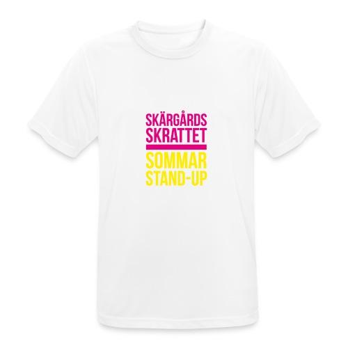 Keps - Andningsaktiv T-shirt herr