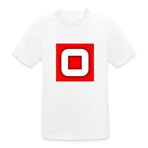 Vanlig Logo (tonåring) - Andningsaktiv T-shirt herr