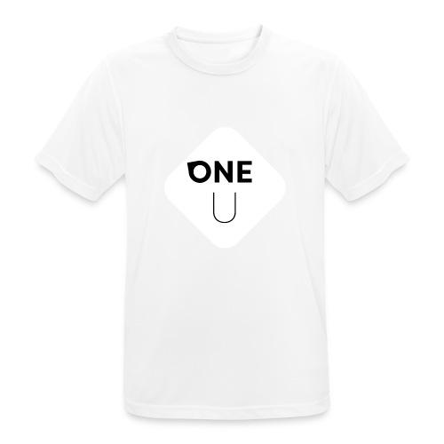 One U - Andningsaktiv T-shirt herr