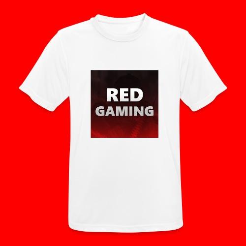 RED DESIGN - Men's Breathable T-Shirt
