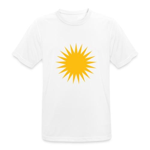 Kurdische Sonne Symbol - Männer T-Shirt atmungsaktiv