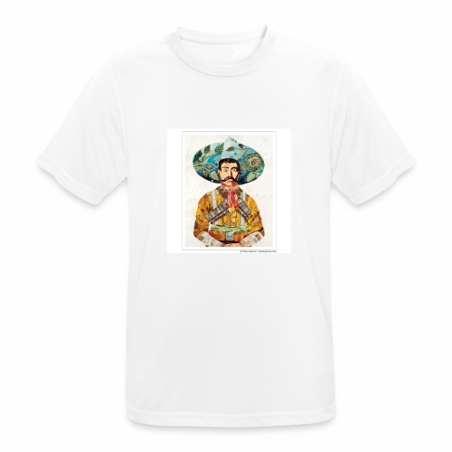 Senhor pistolero - Mannen T-shirt ademend
