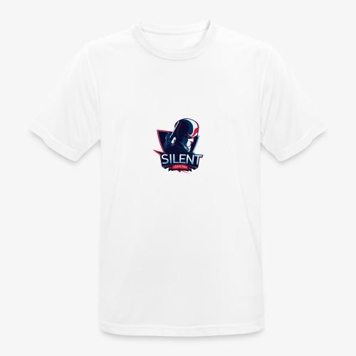 SILENTGAMING Logo color - Männer T-Shirt atmungsaktiv
