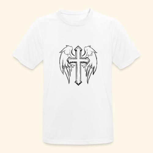 Faith and love - Men's Breathable T-Shirt