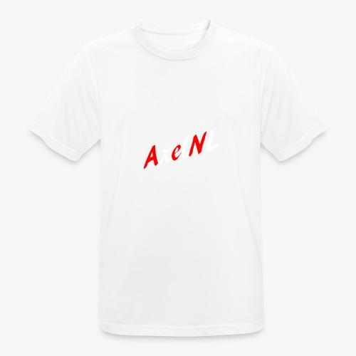 AxelNL - ROOD - Mannen T-shirt ademend actief