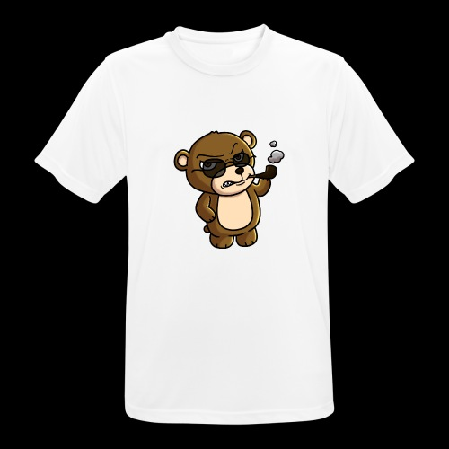 AngryTeddy - Men's Breathable T-Shirt