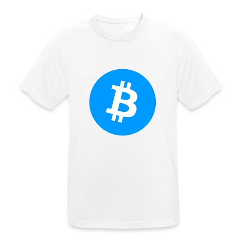 Bitcoin T-shirt - Andningsaktiv T-shirt herr