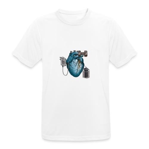 Mezzometro - Heartz - Maglietta da uomo traspirante
