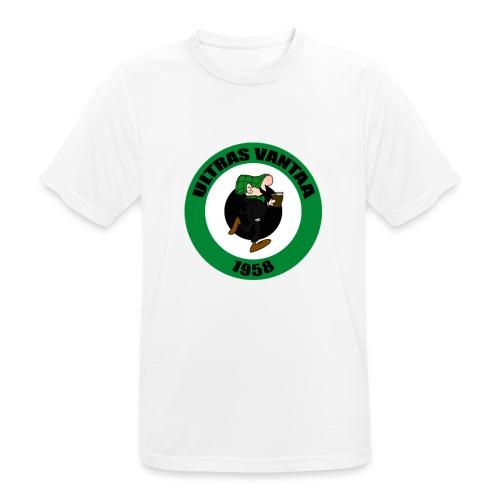 Ultras Vantaa Logo - miesten tekninen t-paita