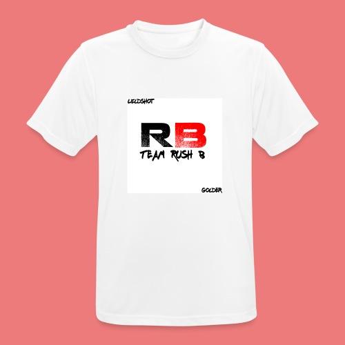trb logo wildshot - Men's Breathable T-Shirt