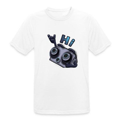The DTS51 emote1 - mannen T-shirt ademend