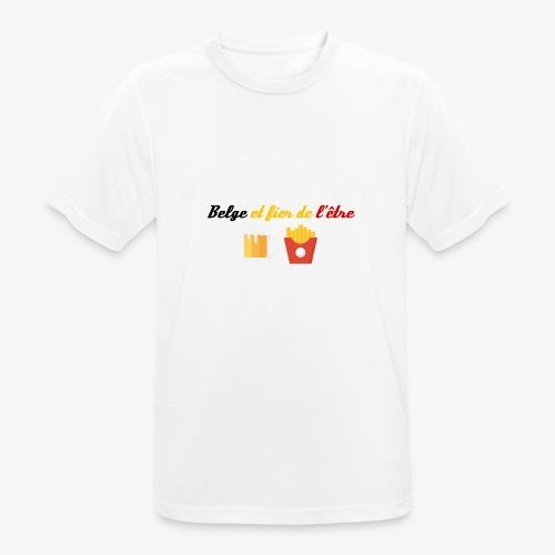 Belge et fier de l'être - T-shirt respirant Homme