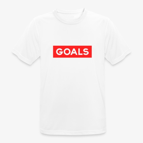 GOALS SQUARE BOX - Men's Breathable T-Shirt