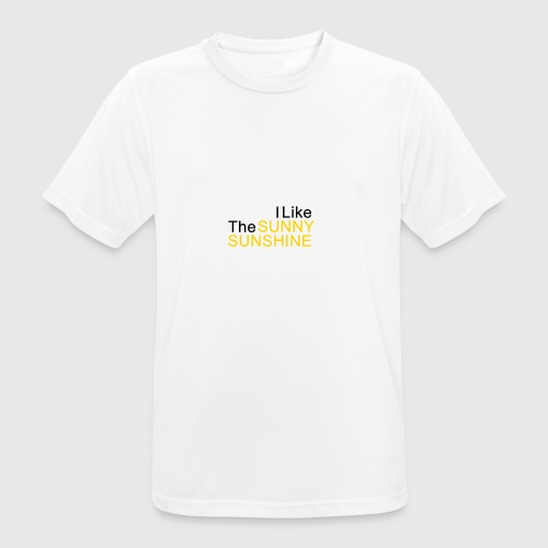 Sunny Sunshine... - Mannen T-shirt ademend actief