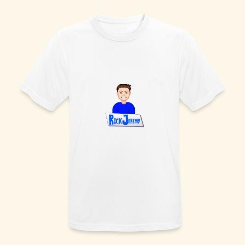 RickJeremymerchandise - Mannen T-shirt ademend actief