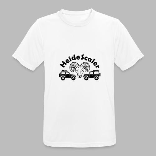 Heide Scaler black HQ - Männer T-Shirt atmungsaktiv