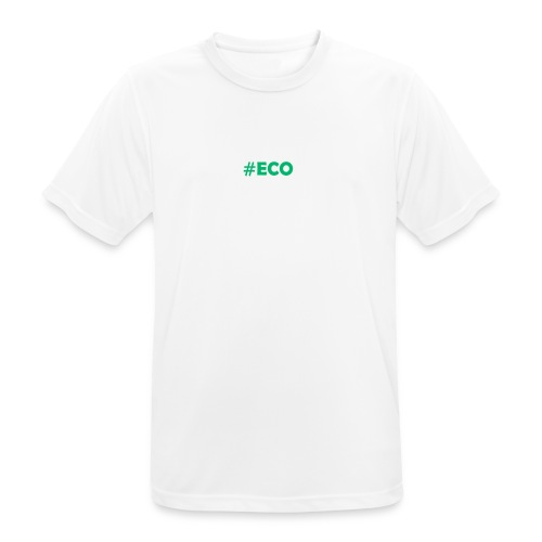 #ECO Blue-Green - Männer T-Shirt atmungsaktiv