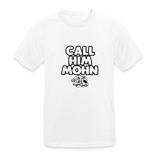 CallHimMohn - Männer T-Shirt atmungsaktiv